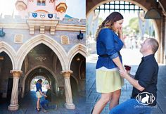 25 cuteness overload from disney proposal ideas 20 - Beauty of Wedding Disney Engagement Rings, Disney Wedding Rings, Disney Rings, Disney Jewelry, Engagement Pictures, Disneyland Proposal, Disneyland Castle, Disneyland Park, Rabbit Photos
