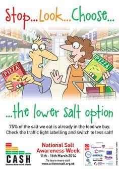 National Salt Awareness Week posters