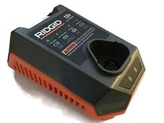 Ridgid R86045/140328001 12-Volt Battery Recharger New Model (Recharger ONLY) ** For more information, visit image link.