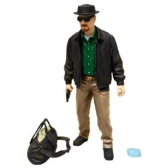"Figura Breaking Bad. Walter White ""Heisenberg"". Toy Fair NY2014, Mezco Figura de 15cm del personaje de Walter White ""Heisenberg"", personaje protagonista de la serie Breaking Bad."