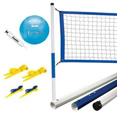 The Franklin Sports Recreational Volleyball Set will give your family and friends hours of fun and exercise.