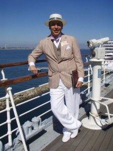1930s men's summer suit