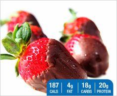 Designer Whey  |  Chocolate Covered Strawberry Shake