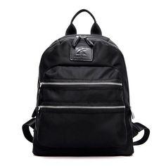 Women Outdoor Nylon Backpack Schoolbag Functional Bag