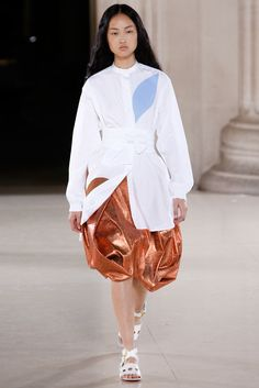 Jonathan Saunders Spring 2015 Ready-to-Wear Fashion Show - Jing Wen