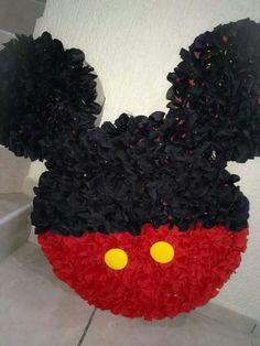 Piñata silueta Mickey mouse #Piñatamundi