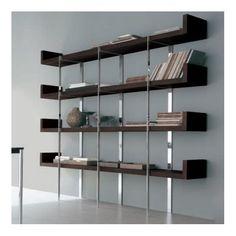 Libreros on pinterest artist studios wood shelves and for Libreros modernos