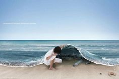 just because you can't see it doesn't mean that it's not there, pollution, save the oceans Ocean Pollution, Plastic Pollution, Environmental Pollution, Great Pacific Garbage Patch, All Nature, Save The Planet, Pics Art, Go Green, See It