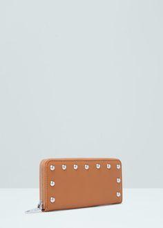 Billetera tachuelas | MANGO