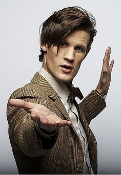 The 11th Doctor. The Optimist.   Doctor Who. Matt Smith.