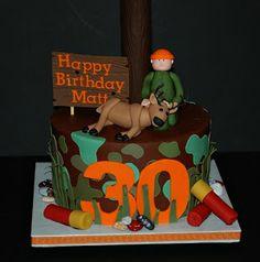 The Bakery Next Door: Deer Hunter Birthday Cake
