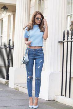 denim blue inspo fashion! shop the latest trends online now at www.masqueboutique.com.au