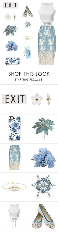 """""""Last Chance"""" by indigochameleon ❤ liked on Polyvore featuring Poporcelain, Casetify, Pier 1 Imports, River Island, Pascale Monvoisin, Bling Jewelry and MEHER KAKALIA"""
