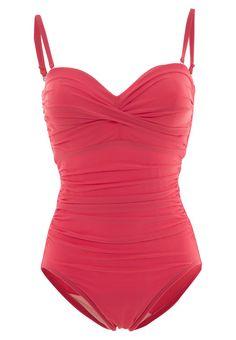 Bañador  de mujer color rojo de Miraclesuit Miraclesuit BARCELONA Bañador coral Ofertas en Zalando.es | Material exterior: 69% poliamida, 31% elastano | Ofertas ¡Haz tu pedido en Zalando.es y disfruta de gastos de enví-o gratuitos! #bañador #swimsuit #monokini #maillot #onepiece #bathingsuit