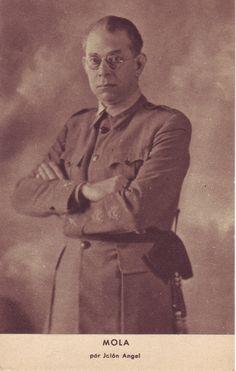 """Emilio Mola (Cuba, 1887 - Burgos, 1937). Va ser el cap de l'Exèrcit del Nord i va morir en un accident no del tot aclarit. El poeta Pablo Neruda li va dedicar un dels seus versos més ferotges """"Mola en los Infiernos"""". #colforjadores  #CRAIBibrepublica"""
