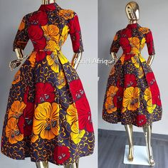 Short African Dresses, Latest African Fashion Dresses, African Inspired Fashion, African Print Dresses, African Print Fashion, Africa Fashion, African Attire, African Wear, African Fashion Traditional