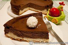 PASCA CU CIOCOLATA   Diva in bucatarie Tasty, Yummy Food, Something Sweet, Cheesecakes, I Foods, Tiramisu, Food And Drink, Sweets, Cookies