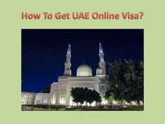 Here is my Post, have a look: How To Get UAE Online Visa? Want a visa for your UAE trip? We will help you to get your online visa for UAE with minimal price. Here you may find several info that may provoke you to apply a visa with us.