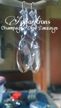 Champagne Oval Earrings!  $12