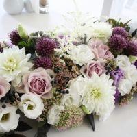 #flowers #wedding #tabledecorations Floral Wreath, Wreaths, Table Decorations, Flowers, Wedding, Casamento, Door Wreaths, Weddings, Deco Mesh Wreaths