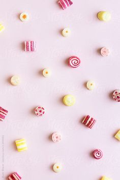 Candy background by Ruth Black