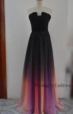 Prom dress Ombre Prom Dress Prom Dresses by Promgirlsdress on Etsy