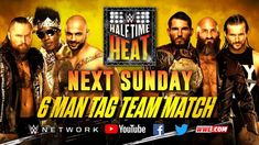Shawn Michaels announced WWE Halftime Heat will take place next Sunday, featuring a Six-Man Tag Team Match pitting Aleister Black, Ricochet & Velveteen Dream. Mick Foley, Halftime Show, Next Sunday, Wwe Pay Per View, Shawn Michaels, Wwe World, Royal Rumble, Wrestling News