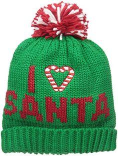 54cfbd3a59f D Y Women s I Love Santa Ugly Christmas Hat