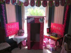 Daughter's Barbie Party idea