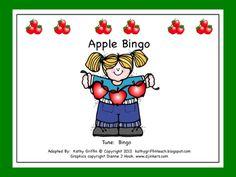 Fun Fall Apple Bingo Books