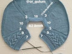 Free knitting pattern for premature baby sweater pullover . Only 2 seams to sew down the arms . In french . 2 brassières prémas (rangs raccourcis) - Je tricote Tu crochètes Free knitting pattern for premature baby sweater pullover . Only 2 seams to s How To Start Knitting, Knitting For Kids, Free Knitting, Baby Knitting, Baby Booties Knitting Pattern, Easy Knitting Patterns, Baby Patterns, Diy Crafts Crochet, Romper Pattern