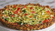 Broccoli Cheddar Quiche  #Broccoli #cheddar #Quiche