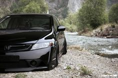 Stanced & Flush Honda civic Sedan (8)