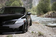 Stanced & Flush Honda civic Sedan (8)