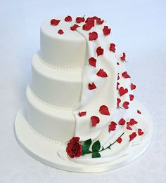 Wedding Cake by Sarah Louise Cakes