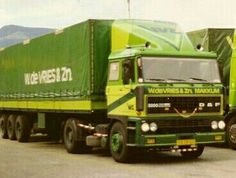 DAF FT 2800 DKS 4x2 met huifoplegger van W. de Vries uit Makkum Vintage Trucks, Classic Trucks, Cars And Motorcycles, Transportation, Europe, Vehicles, Trucks, Truck, Car