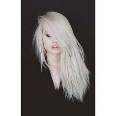 Beauty Buzz Debby Ryan Goes Platinum Blonde, Angelina Jolie Has Makeup... ❤ liked on Polyvore featuring beauty products, haircare, hair, people, photo, faces and hairstyles