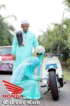 Honda cub #wedding