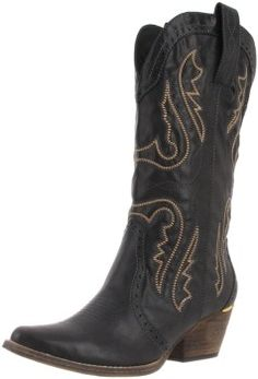 4 Inch Sexy Cowgirl Boots High Heel Mid Calf Boot | Sexy, Cowgirl ...