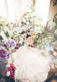 Korea Studio Pre-wedding Photography: 2015 Cantabile Collection by Bong Studio on OneThreeOneFour 1