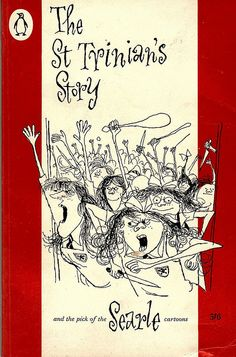 The St Trinian's Story, Cover by Ronald Searle