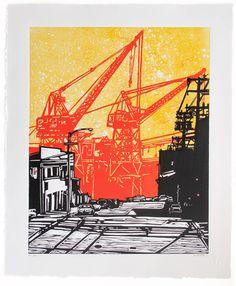 cranes at Pier 70, Dogpatch