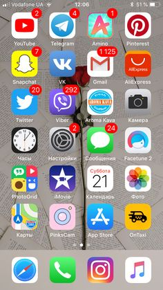 🌸 my telephone 🌸 iphone app layout, iphone home screen layout, applicatio