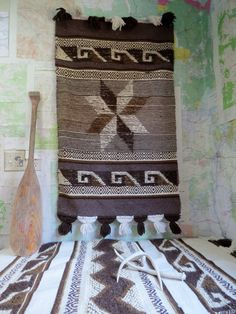 Southwest Boho Wall Hanging Rugs Vintage Set of by TheCuriousMoose, $125.00
