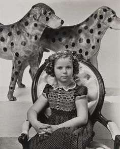 Shirley Temple, 1938. Photo by Edward Steichen. S)