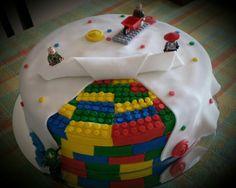 Torta decorada LEGO