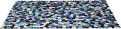 Teppich Circle Multi Blue 170x240cm #kare #design #wien #teppich #carpet #modern