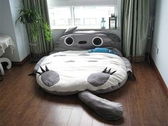 A Gigantic Totoro Sleeping Bag / Futon Bed- AWESINE