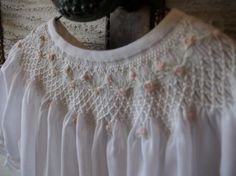 Christening Gown New Beginnings - Sizes Newborn, 3 Months, and 6 Months via Etsy