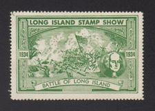 U.S. Long Island Philately Stamp Show Exhibition Poster Stamp Cinderella
